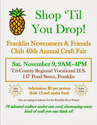 Franklin Newcomers and Friends 40th Annual Craft Fair