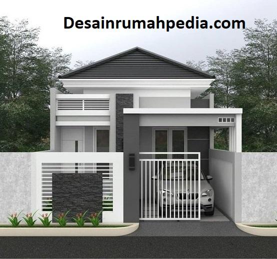 Inspirasi Pagar Rumah Batu Alam Untuk Rumah Type 36 Desainrumahpedia Com Inspirasi Desain Rumah Minimalis Modern