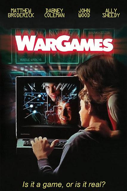 Póster película Juegos de guerra