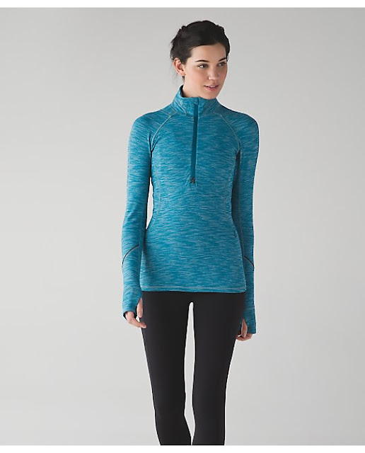 lululemon tofino-teal race-your-place-half-zip