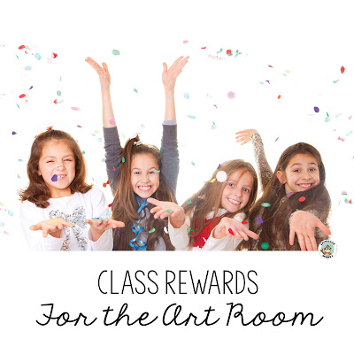 Students love earning a class reward and it can be a fun way to keep them motivated. Here are some easy ideas for your elementary art room!