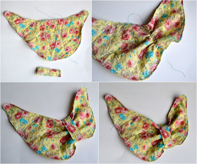 FREE PATTERN: Bow-Inspired Baby Drool Bib