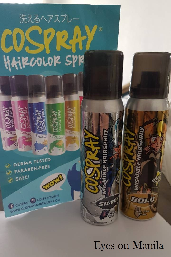 Coloring for Kids hair color spray for kids : Eyes on Manila: A Mom's Lifestyle Blog in Manila and Beyond