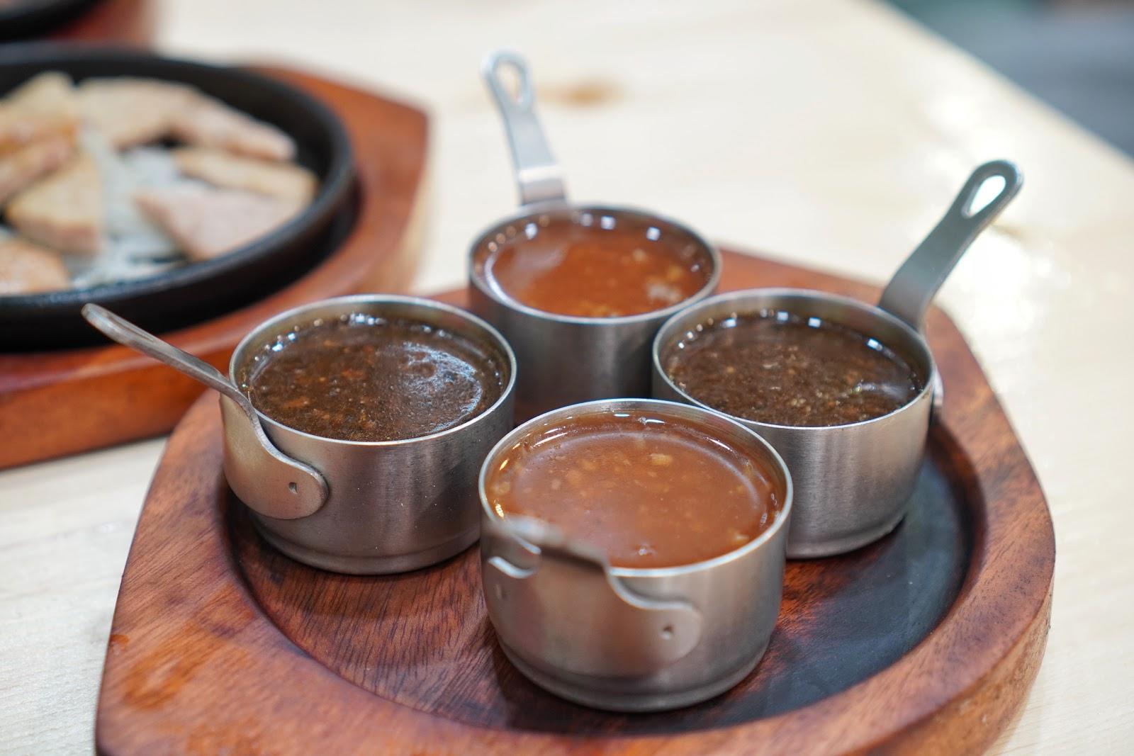 台南美食【19House炙燒牛排安南店】醬汁