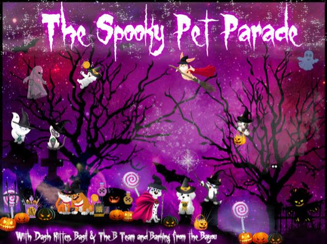 Halloween Pet Parade Banner 2019
