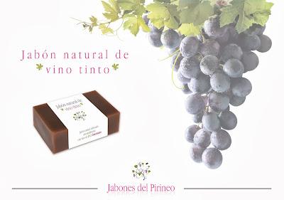 Jabón Natural de Vino y Pepita de Uva