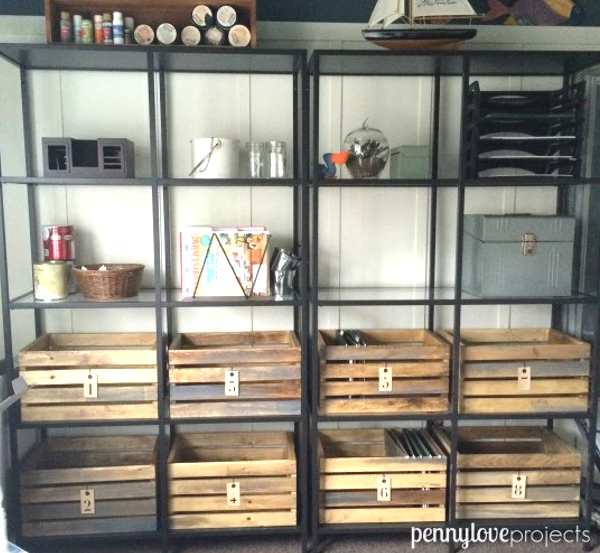 Brilliant Office Organization Ideas: DIY Home Sweet Home: 14 Brilliant Projects To Make Your
