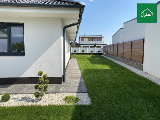 تنسيق حديقة منزلية بالانجلية الصناعية
