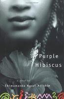 Book cover of Purple Hibiscus by Chimamanda Ngozi Adichie