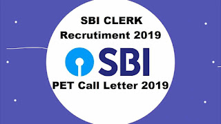 SBI Clerk Pre Exam Training Call Letter 2019