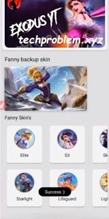 APK Fanny Skinjector Mobile Legends Patch Terbaru