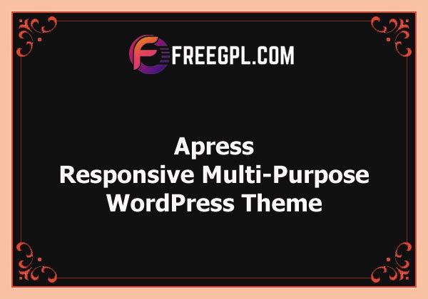 Apress - Responsive Multi-Purpose Theme Nulled Download Free