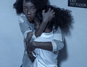 Charmaine Bingwa con su hija en Black Box