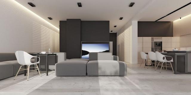 Phong cách nội thất dự án căn hộ cao cấp quận 2 nổi bật