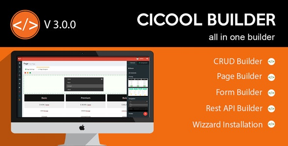 Download Cicool v3.1.0 - Page, Form, Rest API and CRUD Generator
