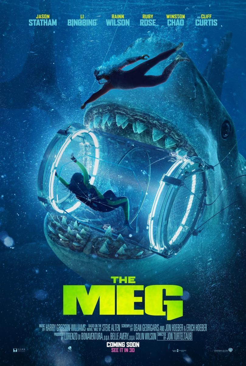 Download The Meg (2018) Full Movie in Hindi Dual Audio BluRay 720p [1GB]