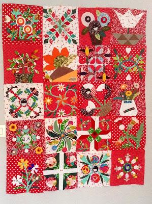 quiltmania, chuck nohara, les fleurs du mardi, patchwork