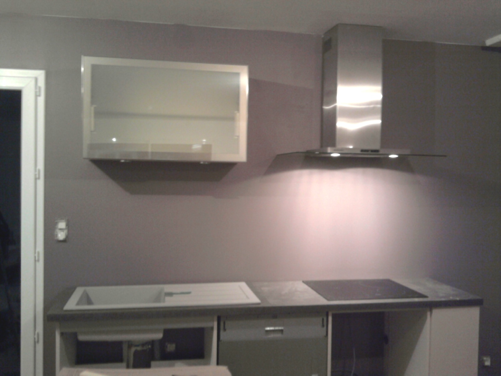construction maison installation cuisine. Black Bedroom Furniture Sets. Home Design Ideas