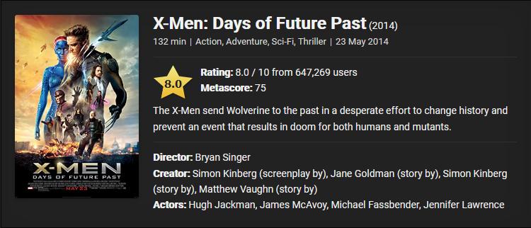 X-Men Days of Future Past (2014) Download Full Movie ...