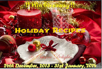Holiday Recipes ~ 3rd Blog Anniversary Event With Cookbook Giveaway