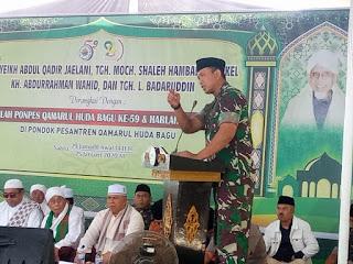 Komandan Korem 162/WB Kolonel Czi Ahmad Rizal Ramdhani, S.Sos. SH. M.Han