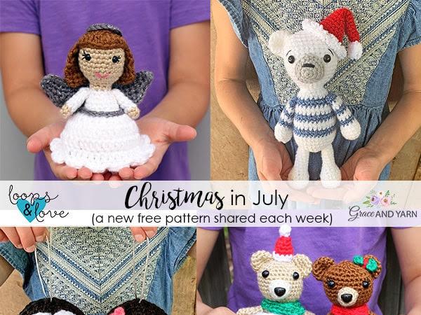Christmas In July 2020 - Free Crochet Patterns
