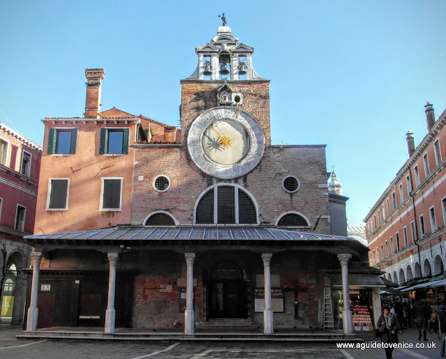 The church of San Giacomo di Rialto, Venice