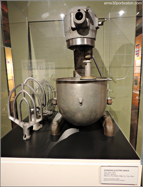Batidora Museo Culinario de Providence