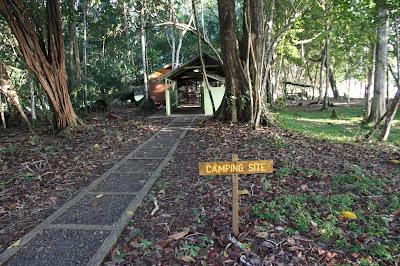 Lokasi Camping di Tanjung Datu National Park