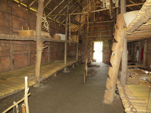 seneca bark house