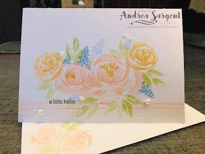 Andrea Sargent, Stampin Up, 2019, Beautiful Friendship, Annual Catalogue 2019-2020, Just Add Ink