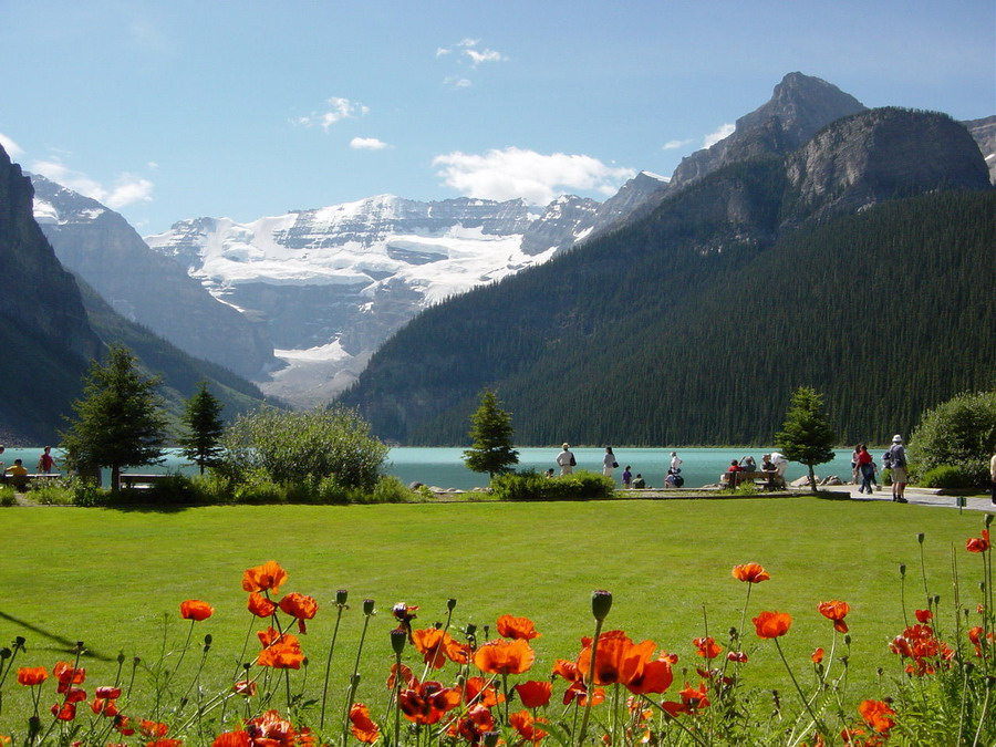 Banff e o Parque Nacional de Banff no Canadá