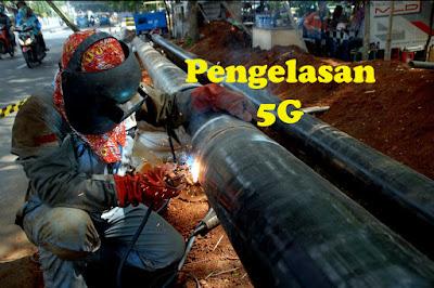 cara pengelasan 5G