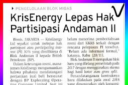 KrisEnergy Release of Andaman Ownership ll