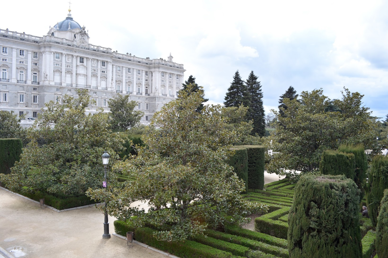 The Sabatini Gardens, Jardines de Sabatini, Palacio de Madrid, Madrid sights, travel Madrid