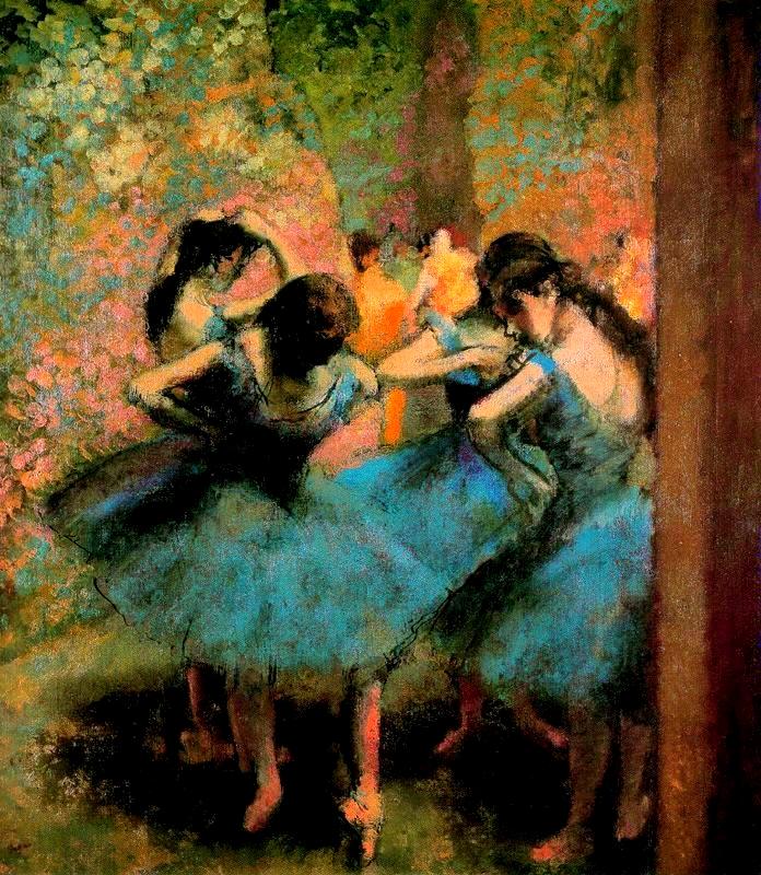 Ballarines de blau (Edgar Degas)