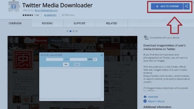 Tutorial Cara Download Video Twitter Melalui Laptop