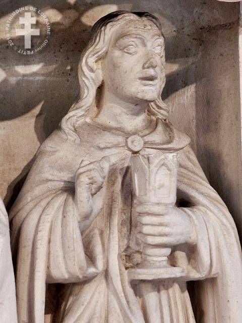 SAINT-NICOLAS-DE-PORT (54) - Retable de la Chapelle des Fonts (XVIe siècle)