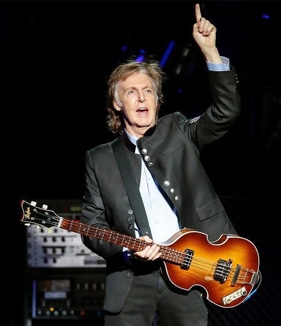Paul McCartney lauréat du Prix Wolf de musique en Israël