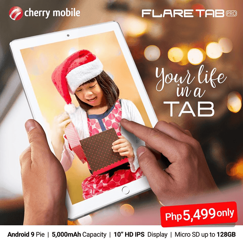 Cherry Mobile Flare Tab Pro now in stores, priced at PHP 5,499