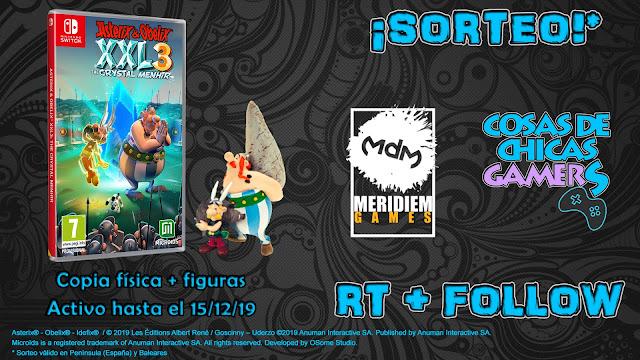 Sorteo Asterix y Obelix XXL3 para Switch