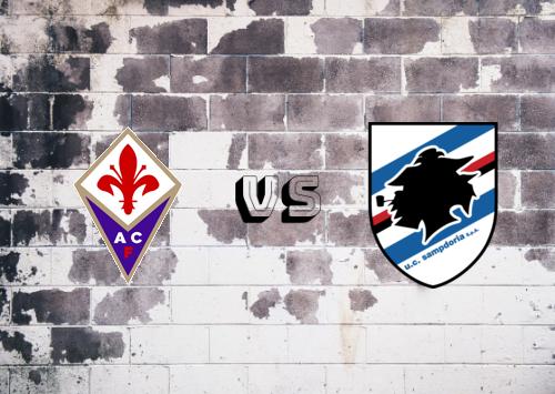 Fiorentina vs Sampdoria  Resumen