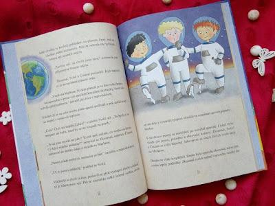 Na výletě v raketě (Dagmar Medzvecová, nakladatelství Grada, Bambook), dětská knížka