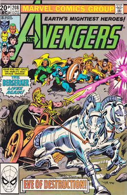 Avengers #208, the Berserker