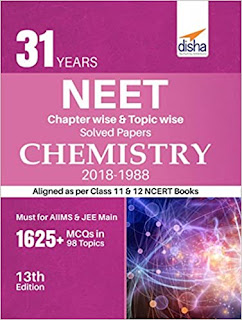 Disha Publication: CHEMISTRY-31Years NEET Chapterwise Topicwise Solved