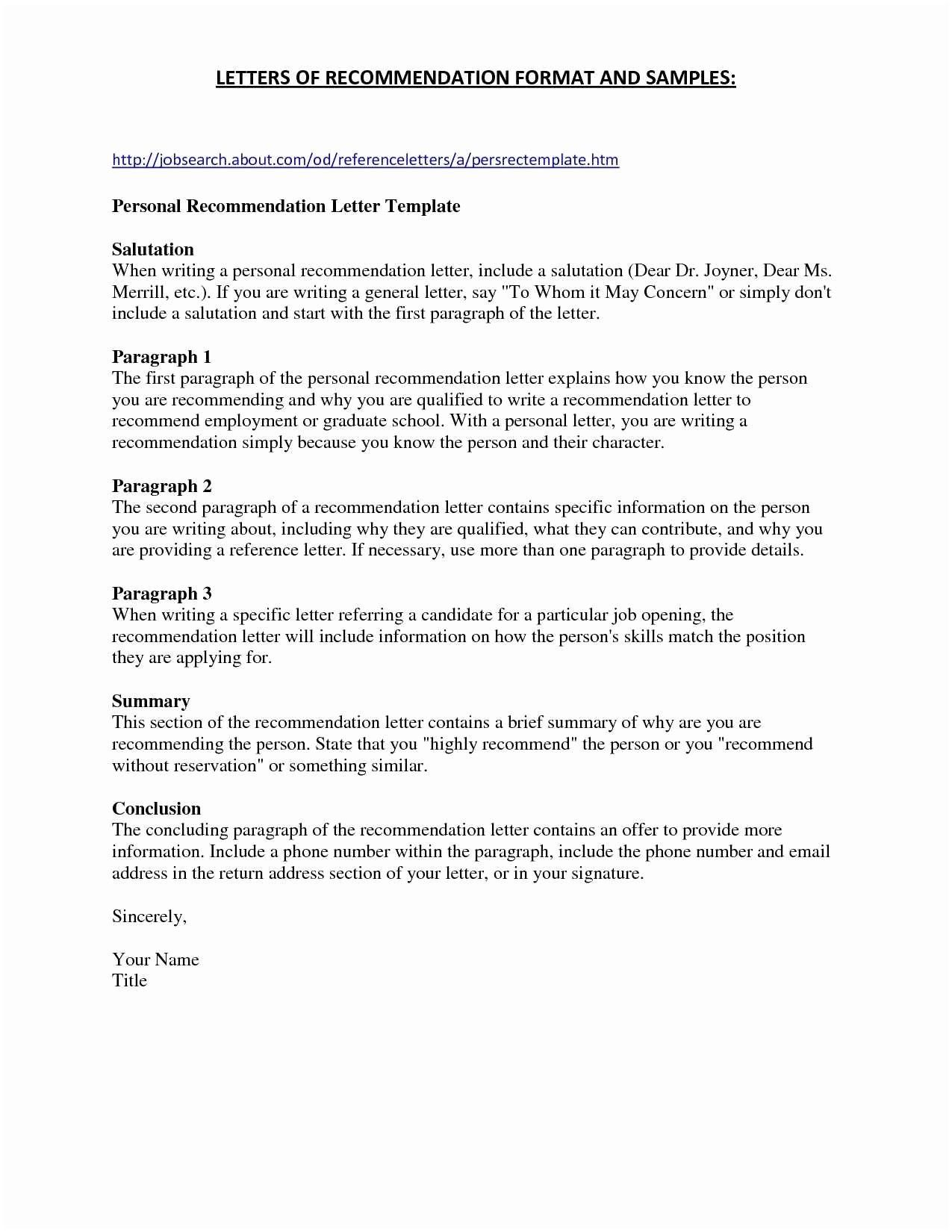 Business Letter Format To Two