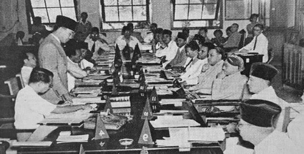 Hasil Sidang Pertama PPKI pada Tanggal 18 Agustus 1945