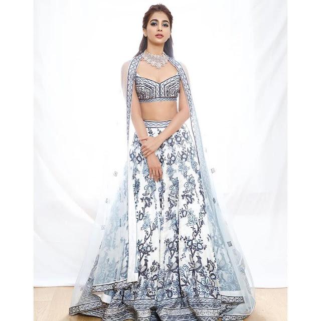 Pooja Hegde Latest Photoshoot Stills 2021 Navel Queens