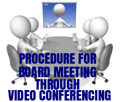Board-Meeting-through-Video-Conferencing