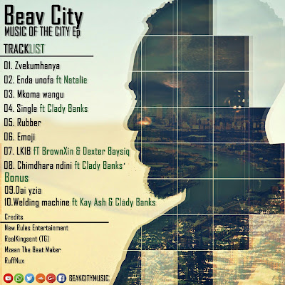 [feature]Beav City - Music of the City back cover
